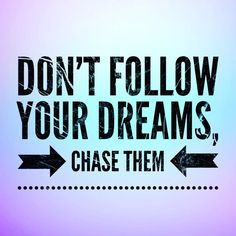 Just a friendly reminder . . . . . . . #friendlyreminder #chaseyourdreams #quoteoftheday #quotestoliveby Chase Your Dreams, Marketing Training, Quote Of The Day, Quotes To Live By, Dreaming Of You, Quote Life