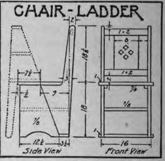 How To Make A Chair-Ladder