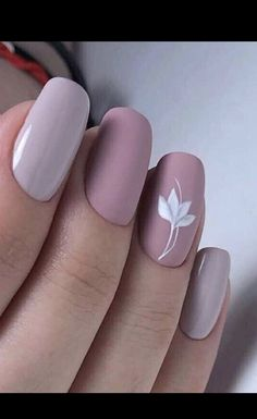 Nov 2019 - 56 Beautiful Short Nail Art Design Ideas To Try In Summer 2019 These trendy Nail Designs ideas would gain you amazing compliments. Check out our gallery for more ideas these are trendy this year. Rose Nails, Flower Nails, Matte Nails, My Nails, Simple Acrylic Nails, Almond Acrylic Nails, Acrylic Nail Art, Flower Nail Designs, Nail Art Designs