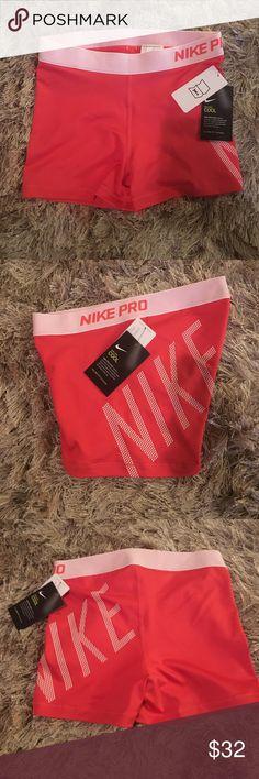 NIKE PRO SHORTS NIKE 3in printed on left leg Nike Shorts