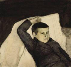 Magnus Enckell. Méditations. Huile sur toile, 1892.