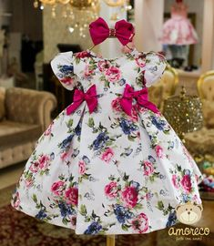 The foremost lovely pursuing new bundle of joy love clothes, look up all the facts like p j's, body fits, bibs, and a lot more. Baby Girl Party Dresses, Little Girl Dresses, Baby Dress, The Dress, Girls Dresses, Flower Girl Dresses, Flower Girls, Baby Girl Fashion, Kids Fashion