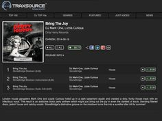 Bring The Joy (StoneBridge Mixdown), the summer anthem from DJ Mark One & Lizzie Curious just went live on #Traxsource #djmarkone #lizziecurious #stonebridge #bringthejoy #dirtyharry http://www.traxsource.com/title/338202/bring-the-joy
