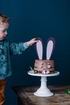 Baby Love, Alice, Happy Birthday, Cake, Food, Ideas, Recipes, Pastries, Bunny Birthday