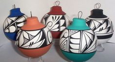 Ornament Southwest Bulb by TheHeadsCreationSW on Etsy, $9.99