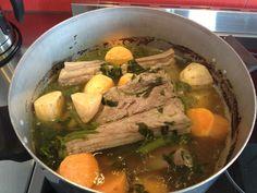Kaiwhenua Ancestral Foods By Lyn: Maori Kai - Pork Bones and Watercress Boil Up!