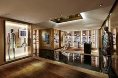 Modern retail store fixtures display-dg furniture free design for handbags racks Shop Interior Design, Retail Design, Luxury Interior, Design Interiors, Display Design, Store Design, Visual Merchandising, Fendi, Yurts