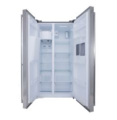 AEG Side by Side Fridge\Freezer with Water Dispenser and Mini Ba - Lowest Prices & Specials Online