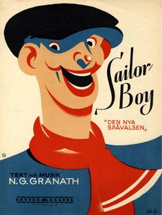 Sailor boy, 1928 (ill.: N. G. Granath); ref. 14571