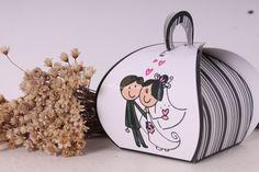 caixinha personalizada para bem casados, doces, etc...