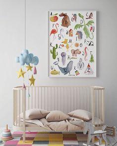 AFFILIATELINK   ABC Poster   Großer, Bunter Lernspaß In A2: Amazon.de: Baby,  Skandinavisch, Design, Minimalistisch, Einrichtung, Deko, Schlichte,  Wanddeko, ...