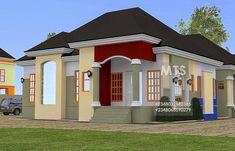 4 Bedroom Bungalow Plan In Nigeria 4 Bedroom Bungalow