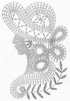 Дамы Crochet Diagram, Crochet Chart, Crochet Motif, Crochet Lace, Crochet Patterns, Russian Crochet, Irish Crochet, Bruges Lace, Romanian Lace