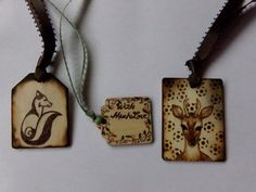 SALEWoodland Wood Burned-Pyrography Gift by HollyBeachCreations