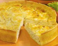 Tarta de Cebolla, Queso y Hierbas - Cocina Boliviana