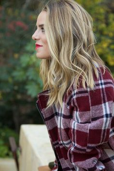 Long angled bob, blonde #fall #hair | See Popular Pinterest Images, World's popular Places, Funny Photos, Famous Pictures all at same place