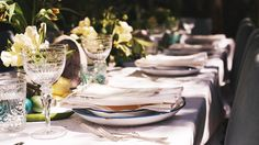 Jenni Kayne and Nathan Turner throw a gorgeous Easter brunch // tablespace vignette
