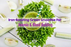 Raw Edibles: Iron-Boosting Green Smoothie For Anemia and Blood Building How To Make Smoothies, Healthy Smoothies, Healthy Drinks, Healthy Tips, Healthy Foods, Smoothie Drinks, Smoothie Recipes, Iron Rich Foods, Plant Based Diet