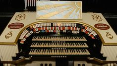 """""""A RARE pipe organ will make an appearance at Her Majesty's Theatre tomorrow in the production of A Ballarat Christmas. The Compton Theatre Organ, which lives below the stalls area, has been raised up specially for the festive season musical."""