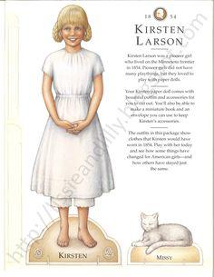Lissie & Lilly: Kirsten's Paper Dolls