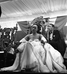 "Josephine Baker was born 108 years ago today in St. Louis, Missouri. She was photographed here by the wonderful Eve Arnold at the ""Josephine Baker Day"" celebration in New York in 1950. Photo: Magnum Photos."