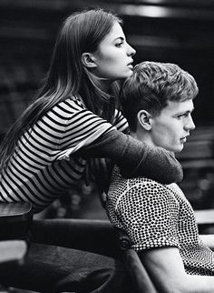 Cameron Russell for Man About Town Spring 2013 // love <3