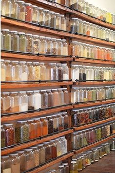 Spice Station | Montreal... mmmm... wall of spices <3