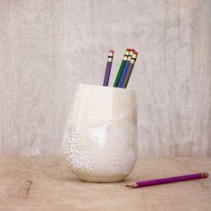 ceramic pencil organizer