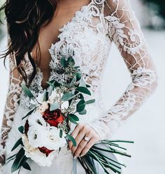 20 keer winter bruidsboeketten inspiratie