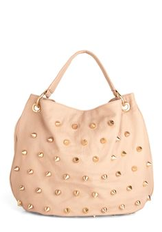 my next project - DIY spiked purse    maybe with stones or pearls? so cute