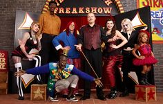 """Venice Beach """"Freakshow"""" Saw these people before they were on AMC and completely awesome show they did."""