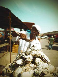 Oyster Vendor . Maracaibo Venezuela