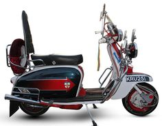 Up for auction: Replica of Jimmy's scooter from Quadrophenia at Bonhams
