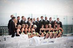 Brewster wedding party