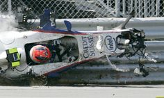 Formula 1 Driver Robert Kubica Seriously Injured in Rally Crash F1 Crash, Oops Photos, Robert Kubica, Sports Images, F1 Drivers, Car And Driver, Race Day, Sports Humor, Formula One