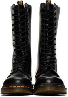 Dr. Martens - Black 1914 Boots Botas Doctor Martin 9f2fcb2b3a