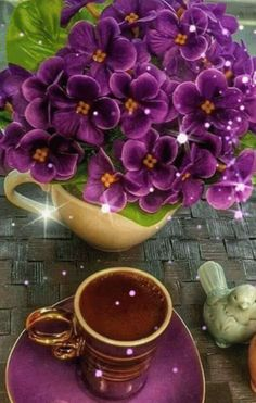 Good Morning Coffee Gif, Good Morning Flowers Gif, Good Morning World, Good Morning Friends, Beautiful Flowers Images, Flower Images, Beautiful Roses, Tea Gif, I Miss You Wallpaper
