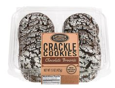 Chocolate Brownie Crackle Cookies | Lofthouse Cookies These cookies are crack...led and delicious. I wish more people knew about them so I wouldn't have to drive so far to the only place that carries them!