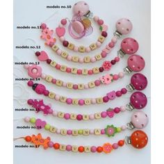 Image detail for -... personalised dummy clip / pacifier holder | Melbourne | Victoria
