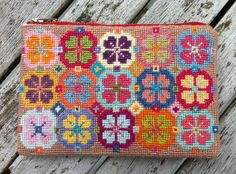 Traditional embroidery purse.