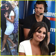 Lea Michele Taylor Lautner & Scream Queens Cast Hit Comic-Con After Season Two Promo Shoot