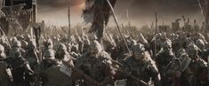 Mordor orc army