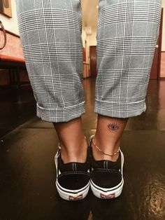 Small ankle tattoo idea for women - tattoos - . - small ankle tattoo idea for women – tattoos – - Body Art Tattoos, Girl Tattoos, Tatoos, Eye Tattoos, Friend Tattoos, Forearm Tattoos, Finger Tattoos, Tattoo Style, I Tattoo