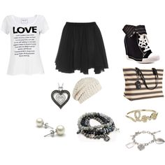 Love inspired outfit