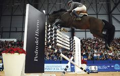 12 of the world's biggest rider frighteners: The six-bar, Madrid, Spain. See all 12 fences at http://www.horseandhound.co.uk/features/scary-horse-fences-473630#y3ukjlyDpCYovzYJ.99