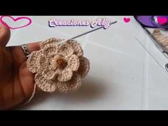 "Crochet Tutorial Vincha a Crochet Diadema ""Ykita"" Tutorial por Maricita Colours Subtitles English Crochet Diy, Crochet Simple, Freeform Crochet, Tunisian Crochet, Thread Crochet, Learn To Crochet, Irish Crochet, Crochet Stitches, Knitted Flowers"