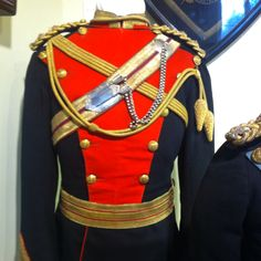 Officer's tunic of the 12th (Prince of Wales's) Royal Lancers,