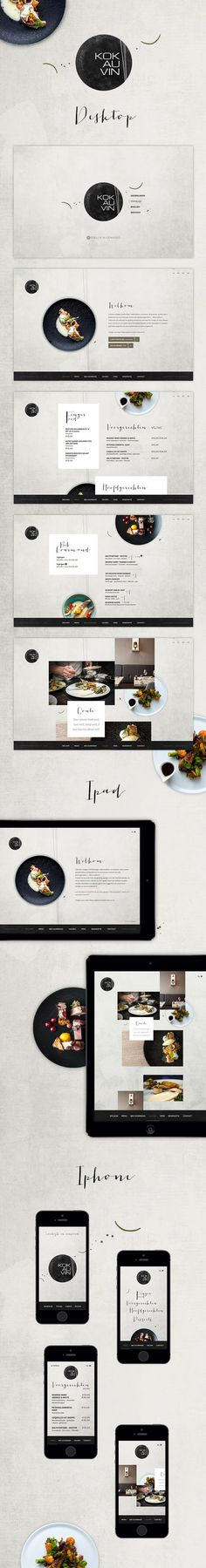 "New #website for #restaurant ""Kok au Vin"" in Bruges. http://www.kok-au-vin.be"