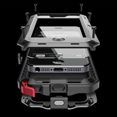 The grandaddy of iPhone cases. This thing is like Iron Man armor for a phone. The shatter protection screen is supposedly still really responsive to touch. I want it!