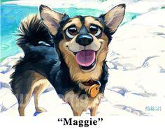 Georg Williams - Gallery Rinard - Dog - Maggie